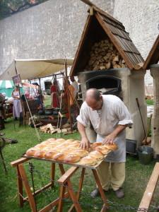 Auch im Mittelalter wurde gut gegessen.